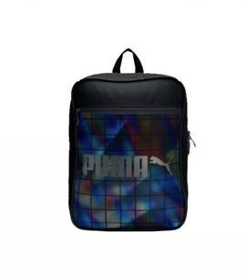 New Puma Campus Backpack Sac à Dos Sport Gym Ordinateur Portable Noir 07454301