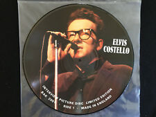 Elvis Costello- ltd.edition interview picture disc-import-from England -BAK 2001