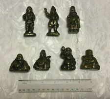 Vintage 7 Lucky Gods - brass