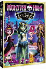 Monster High: 13 Wishes [DVD] [2013] New PAL Region 2
