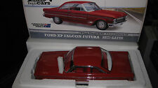 1/18 DIECAST REPLICAR FORD XP FALCON FUTURA 2 DOOR RED STATIN LTD ED #17002