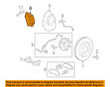 GM OEM Front Brake-Disc Caliper 23276878