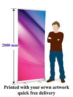 800 mm  Roller Banner Pop Up/ Roll Up /Pull up Exhibition Display Stand ECO