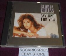 GLORIA ESTEFAN AND MIAMI SOUND MACHINE - ANYTHING FOR YOU -12 TRACK CD- (EPIC)