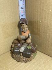 """Tom Clark Gnome Figure """"Fugde"""" / 1986 / Edition #78 / Signed"""