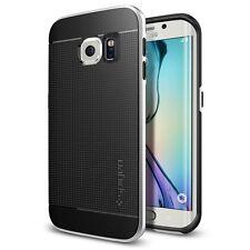 Spigen Galaxy S6 Edge Funda Neo Hybrid Satin Silver
