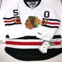 NWT Reebok NHL Youth Chicago Blackhawks Corey Crawford #50 Jersey Youth L/XL