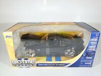 JADA TOYS Bigtime Muscle BLACK 2008 FORD SHELBY GT-500KR 1:24 Scale Diecast NIB
