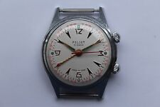 Rare Vintage Watch USSR Soviet POLJOT ALARM SIGNAL Kirova 2612.1 1Mchz 1960S Fab