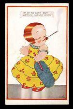 Children child smoking artist CHLOE PRESTON PPC
