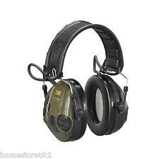 3M PELTOR ELECTRONIC EAR DEFENDERS SportTac Shooting Hunting Hearing Protector