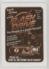 2017 Topps Wacky Packages 50th Anniversary #7 The USB Flash Drive Card 1u6
