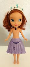 Disney Princess Sofia the First Talking Doll and Light up Amulet 10 inches tall
