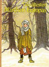 Die ältesten Märchen Europas von Karel Dvorak - Illustrationen Miroslav Vasa