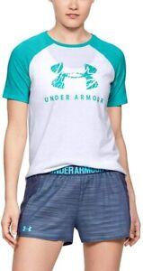 Under Armour Woman's T-shirt  XL UA Baseball White NWT