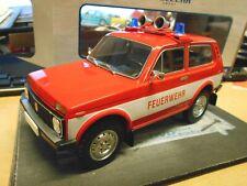 LADA Niva 4x4 Geländewagen Russia Feuerwehr 1978 rot red RAR MCG 1:18