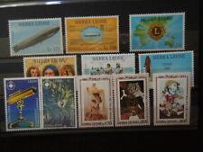 G254 SIERRA LEONE 1993 SPACE/ZEPPELIN/COPERNICUS/COLUMBUS 6 X SET  MNH