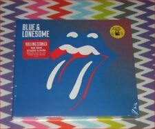 "Rolling Stones New sealed Fast Freepost ""Blue & Lonesome"" CD + rare red sticker"