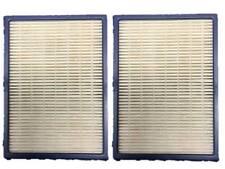 2 Eureka HF2 HEPA Vacuum Filters  (compares to 61111, 61495, 62880)