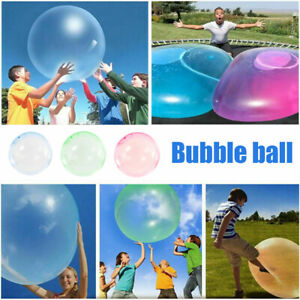 70cm Wubble Big Bubble Ball Firm Water Air Balloons Inflatable Soft Refillable
