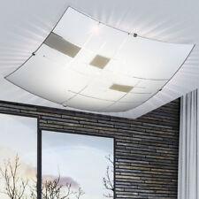 Design LED Decken Lampe Wohn Ess Zimmer Glas Muster Leuchte Dielen Strahler