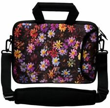 """LUXBURG 14"""" Inches Design Laptop Sleeve With Shoulder Strap & handle #FN"""