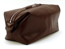 Smartpack Deluxe - Toiletry Bag Xl Margo Munich - Real Leather Brown