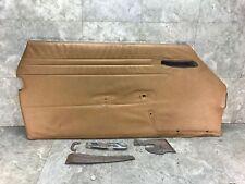 72-89 Mercedes-Benz Left Driver Interior Door Trim Panel Card R107 380 450 560SL