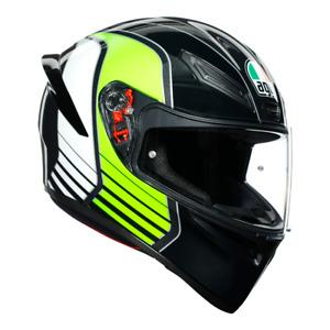 AGV K1 2021 Sports Motorbike Lightweight Helmet with Spoiler and Pinlock Ready