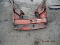 MGB FRONT END ( CHROME BUMPER CARS ) CHASSIS LEG , FRONT PANEL INNER WINGS