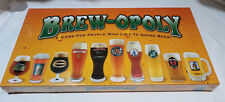 Brew-opoly (BrewOpoly) like Monopoly Board Drink Beer Game -  New - Sealed