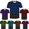 Funny Hypnosis 3D T-Shirt Men Women Colorful Print Casual Short Sleeve Tops 2020