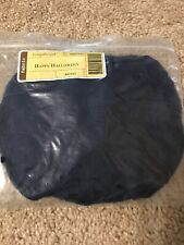 Brand New Longaberger Indigo fabric 2004 Happy Halloween Basket Liner #28597144