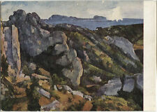 Alte Kunstpostkarte - Paul Cézanne - Rocce all' Estaque