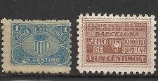 225-SELLO FISCAL 1930 CAJA PENSIONES VEJEZ AHORRO BARCELONA 1 CENTIMO.revenue