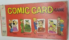 1972 Milton Bradley COMIC CARD BOARD GAME Popeye BLONDIE Hi & Lois BEETLE BAILEY