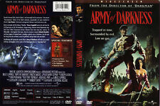 Army of Darkness (DVD, 1998, Widescreen) Bruce Campbell Comedy Horror Cult Movie