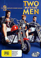 TWO AND A HALF MEN (COMPLETE SEASON 2 DVD SET SEALED + FREE POST)