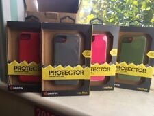 Griffin Protector Phone Case iPhone 5  Silicone  Grey Red Pink Green