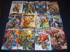 Aquaman 0-52, Annuals and Variants & More Justice League