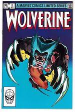 WOLVERINE #2 (NM-) High Grade! Frank Miller Art! 1st Full Yukio Appearance 1982
