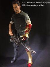 1/6 scale gun gatling gun full metal for 12'' figure