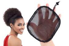 Kitoye Ponytail Base Net Adjustable Strap DIY Weaving Cap Stretchy Hair Bun Wig