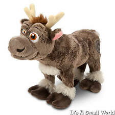 "Disney Store Frozen Reindeer Sven Plush Small Doll 11"" Stuffed Animal Moose NWT"