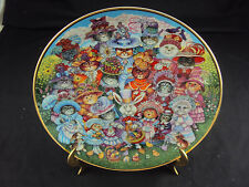 """""""Easter Purrade"""" Franklin Mint Collector's Plate, Hr1969, Free Shipping!"""