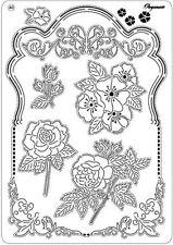 Pergamano Parchemin Craft Multi Grille Nº 40 Jardin Botanique-Fleurs