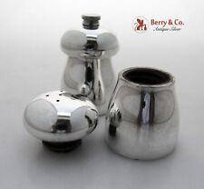 Tiffany And Co Salt Shaker And Pepper Grinder Sterling Silver