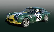 1965 Triumph Spitfire Sebring at Sebring Raceway Race Car Photo (CA-0882)
