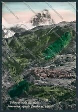 Aosta Valtournanche Cervino Foto FG cartolina D9283 SZI