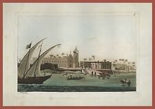 Turchia Türkiye Cumhuriyeti Tempio sacro Esculapio Ferrario 1829